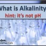 ¿Qué es la alcalinidad? ¿Puede que no sea lo que piensas?