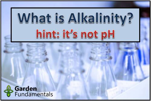 What is Alkalinity - It May Not Be What You Think?