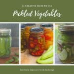 12 formas creativas de usar verduras en escabeche