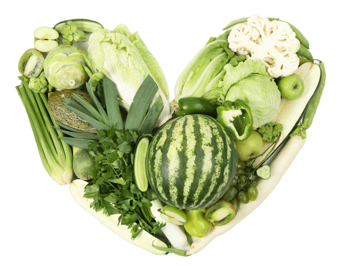 14 frutas y verduras verdes que deberías comer