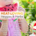 Variedades que aman el calor que crecen mucho en los estados del sur