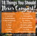 18 cosas que nunca debes fertilizar