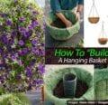 Cómo construir una canasta colgante -