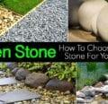 Cómo elegir la piedra adecuada para tu jardín