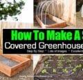 Cómo hacer un pequeño invernadero cubierto -