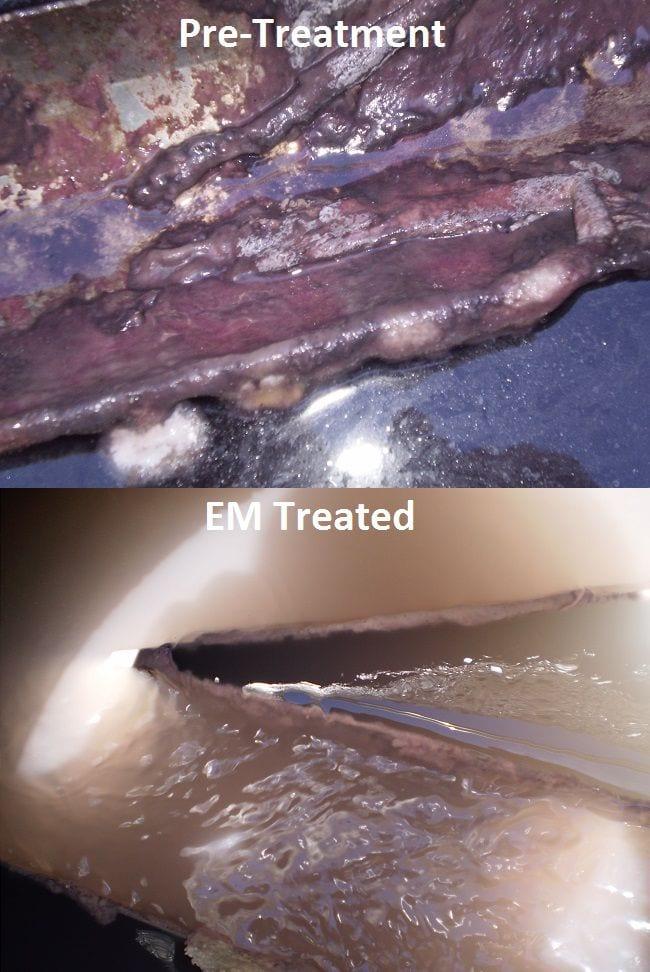 Control de lodos y olores en aguas residuales de viñedos