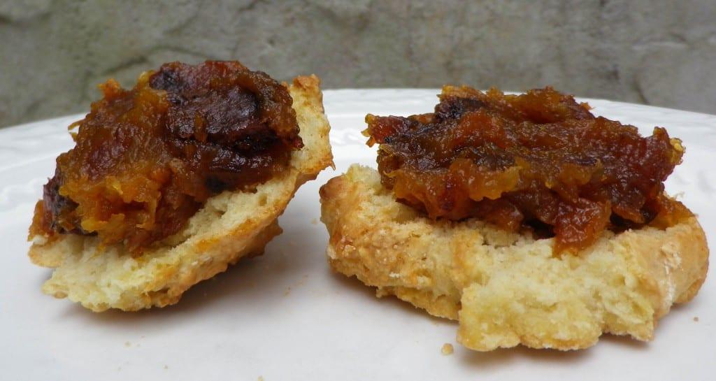 Oct 2016 (26) Mantequilla de calabaza con galleta cosechada