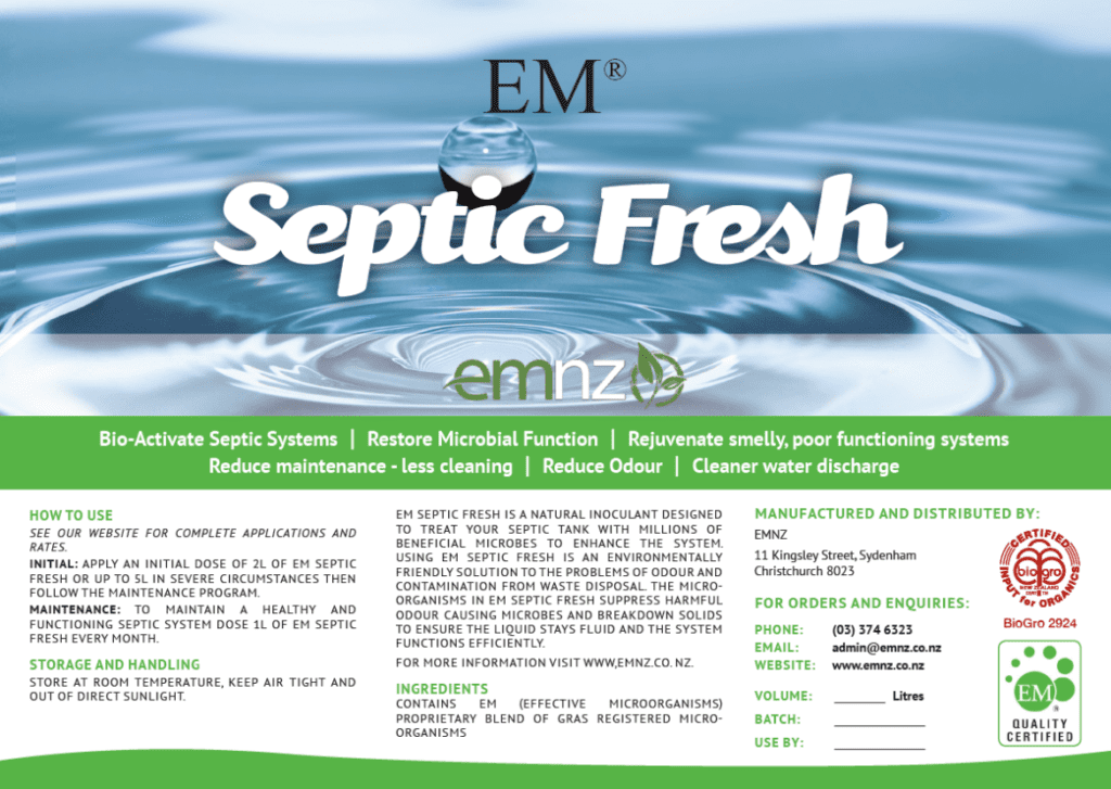Nuevo producto: EM Septic Fresh
