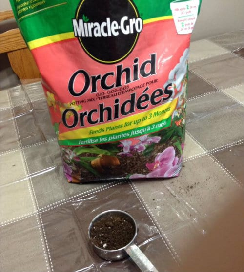 Miracle-Gro Orchid media that is unsuitable fro growing Orchids