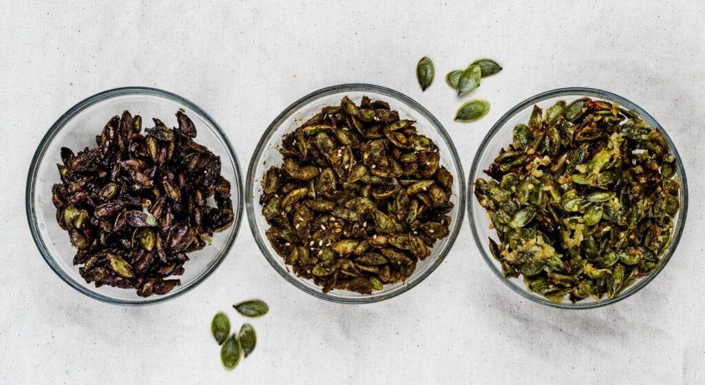 Semillas de calabaza tostadas - Tres formas MÁS - West Coast Seeds