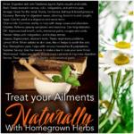 Trate sus enfermedades de forma natural con hierbas caseras