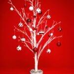 Decoración navideña alternativa - Opciones de árbol de Navidad para espacios pequeños
