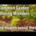 3 Errores de planificación del jardín para evitar