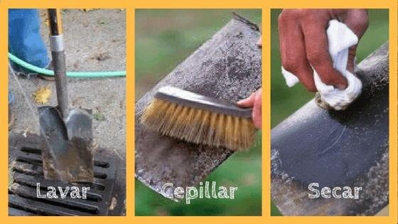 Herramientas de limpieza para jardines: cómo limpiar herramientas para jardines